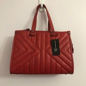 INC International Concepts CISSY QUILTED SATCHEL
